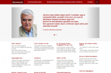 Borenich Péter weboldala