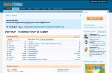 DiabFórum.hu - Magyarország legnagyobb cukorbeteg fóruma