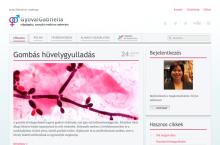 Dr. Gyovai Gabriella nőgyógyász weboldala