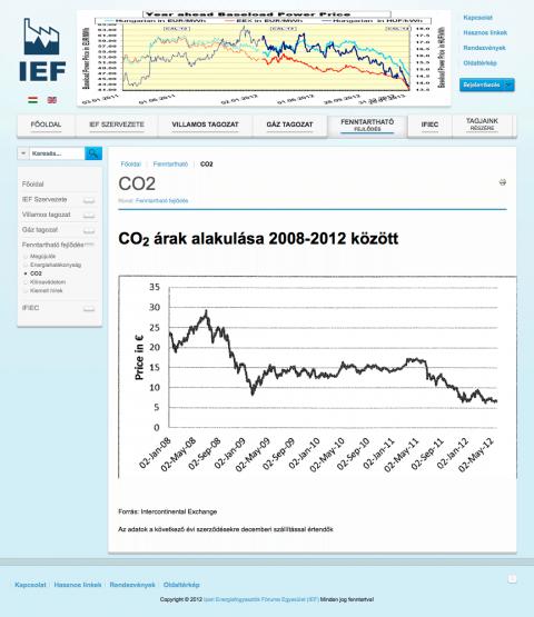 IEF - Ipari Energiafogyasztók Fóruma