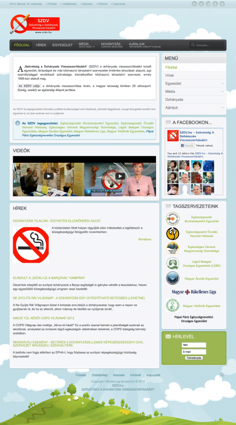 SZDV - Szövetség a dohányzás visszaszorításáért